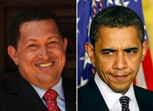 Chavez / Obama (GLW / archives)