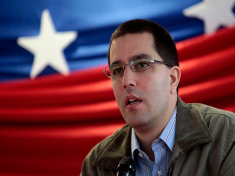 Jorge Arreaza, Hugo Chavez's minister for science and technology, gave an update yesterday on Chavez's recovery from his operation (archives).