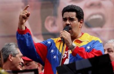 "Venezuelan vice-president Nicolas Maduro demanded ""respect"" for Huge Chavez's health ""In the name of the Venezuelan people"". (AVN)"