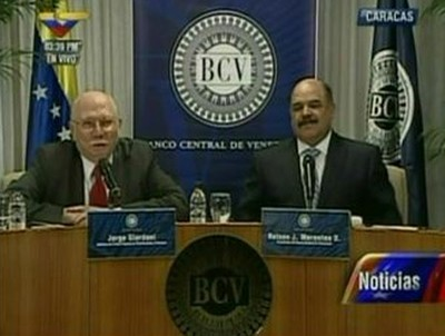 Jorge Giordani and Nelson Merentes announced the measures (VTV)