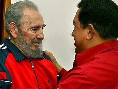Fidel Castro and Hugo Chavez (archive)