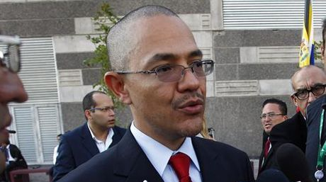 Venezuelan Communications Minister Ernesto Villegas (EFE)