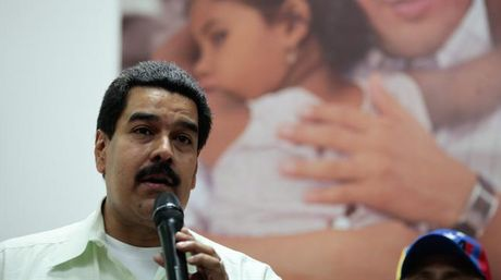 Vice President Nicolás Maduro (EFE)