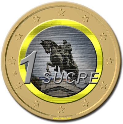 The first transaction with the Sucre currency was effected in 2010 (archives)