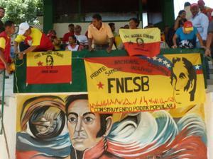 Participants in the Simón Bolívar National Community Front (FNCSB) (Dario Azzellini/NACLA)