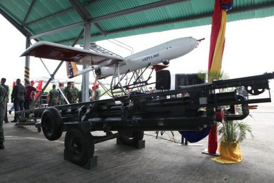 Last week the Venezuelan government demonstrated its Arpia Drones System (Minci)
