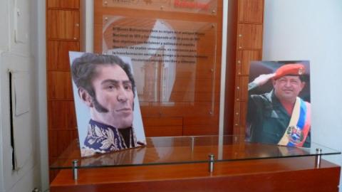 Bolívar and Chávez (Andre Vltchek/CounterPunch)