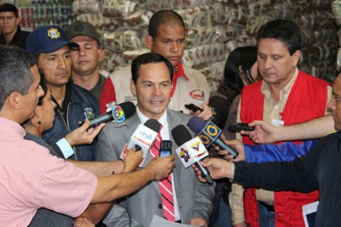 José Vielma Mora, Bolivarian governor of the 