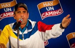Henrique Capriles (agencies)