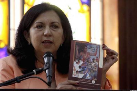 Carmen Meléndez, the new defense minister (AVN)