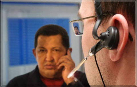 The DataGate began in Rome in May 2006, when George Bush ordered half the city to be intercepted by the NSA, which wanted to know every detail of Hugo Chávez's visit to Italy (Globalist Syndication)