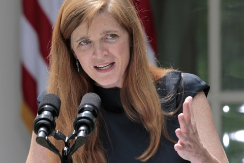 Samantha Power has been nominated by Obama to be the next US envoy to the UN (Zuma Press)