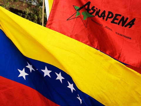 Askapena called on the Venezuelan government not to be pressured by France and Spain (Askapena)