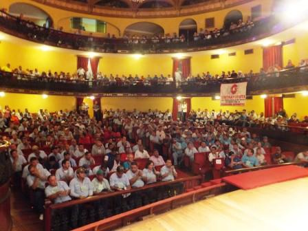 View of the plenary session of the founding congress of the Federation of Automobile and Related Industry Workers (Aporrea.org)