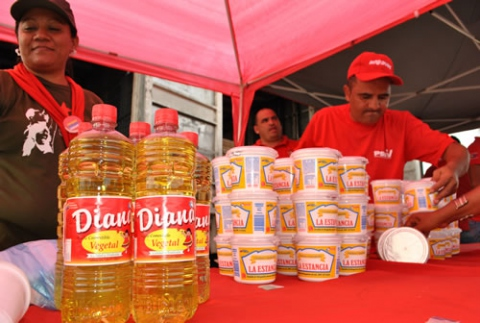 A state run market distributing Diana products directly to the public (Rafael Molina)