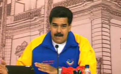 "Venezuelan president Nicolas Maduro has denounced a ""massive"" Twitter attack against the Venezuelan government (agencies)"