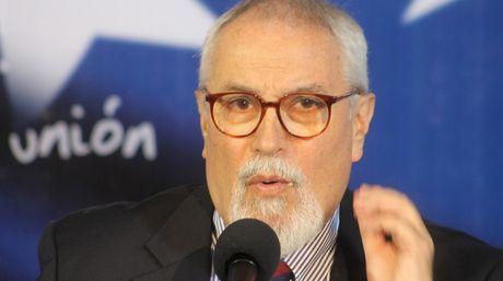 Ramon Aveledo, the executive-secretary of the opposition Democratic Unity Table (MUD) coalition (Prensa MUD)