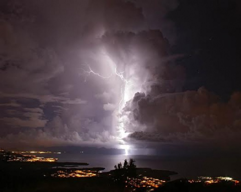 The Catatumbo lightening (Prensa Mintur)