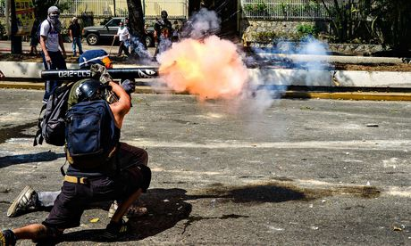 'Despite claims that the government is waging a terror campaign, the evidence suggests a majority have been killed by opposition supporters.' (Carlos Becerra/AFP/Getty Images)