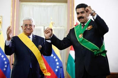 Mahmoud Abbas and Nicolas Maduro (AVN)