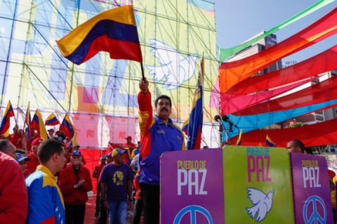 peace march maduro