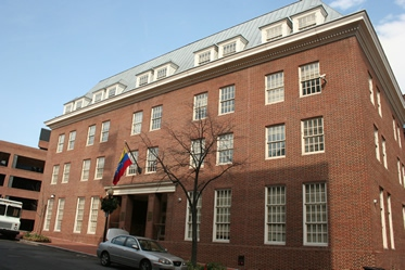 The Venezuelan embassy in Washington D.C. (Venezuelan embassy, Washington)