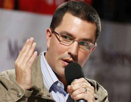 """On Thursday Venezuelan Vice President Jorge Arreaza said that despite repeated calls for the opposition's Democratic Unity Table (MUD) to join dialogue talks to resolve differences """"within the constitution"""", the MUD had yet to accept the invitation. (archive)"""