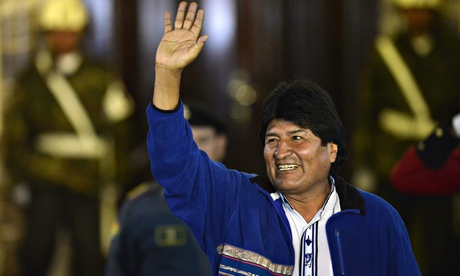Bolivian president Evo Morales (Cris Bouroncle/AFP/Getty Images)
