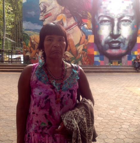 Sabino´s widow, Lucia Martinez de Romero (Rachael Boothroyd - Venezuelanalysis)