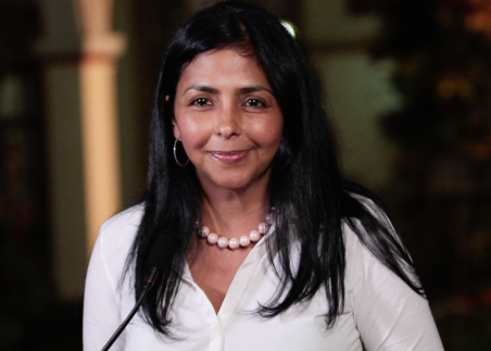 Venezuelan foreign minister Delcy Rodriguez (Photo: Minci)