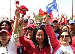 The March of the Red Carnations began in Paraguana 30 years ago at the burial of Ali Primera (VTV)