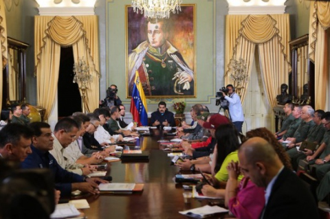 Venezuelan President Maduro has solicited executive powers in order to deal with the imperialist threat. (Photo: NicolasMaduro.org.ve)