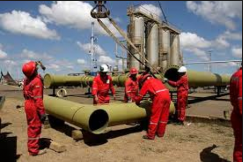 The El Tejero plant is the country's main source of gas (abrebrecha)