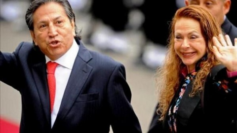 Peruvian ex-president Alejandro Toledo, best known for promoting the US-Peru free trade agreement, currently faces trial for corruption charges. (Cooperativa/Twitter)
