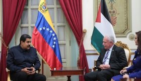 Maduro and al-Maliki in Miraflores Palace yesterday. (Credit: AVN)