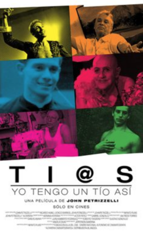 "The six ""ti@s"" featured in the documentary (Ti@s)"