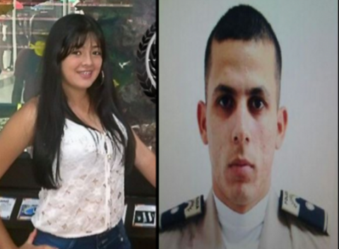 Nicolle Melisa Pérez Soler (left) and Armando Otos Marqués Molina (right). (Courtesy)