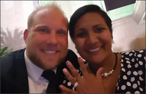 Joshua Holt with then fiancee, Thamara Belen Caleño Candelo (noticierodigital).