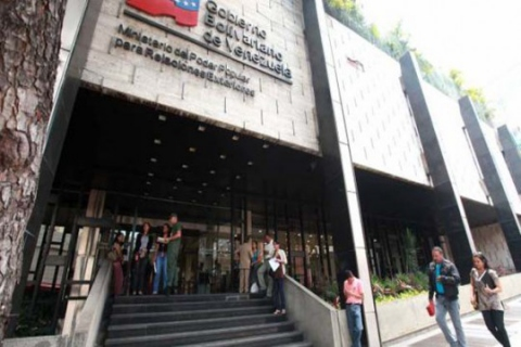 Venezuelan Foreign Ministry headquarters in downtown Caracas. (AVN)