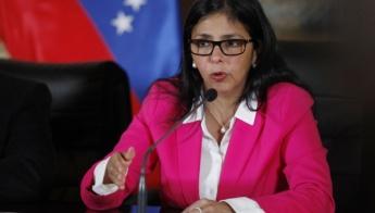 Venezuela's Foreign Minister, Delcy Rodriguez. (Telesur)