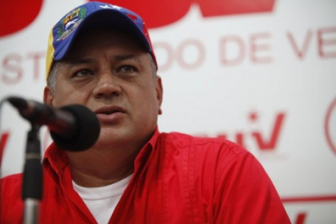 PSUV Vice-President Diosdado Cabello (archive)