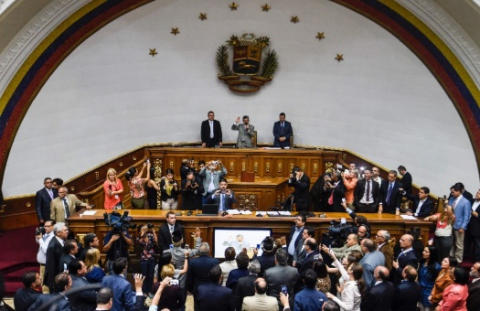 Venezuela's largest opposition coalition, the MUD, currently holds a majority in the AN, with the president's socialist party in the minority. (teleSUR)