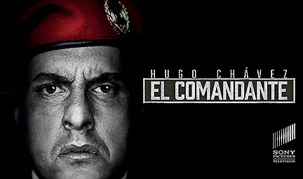 Official portal image for Sony's new series on the life of Hugo Chávez. (Archive)
