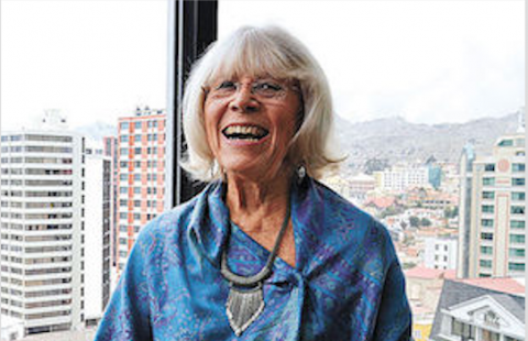 Chilean author Marta Harnecker (Links International Journal of Socialist Renewal).