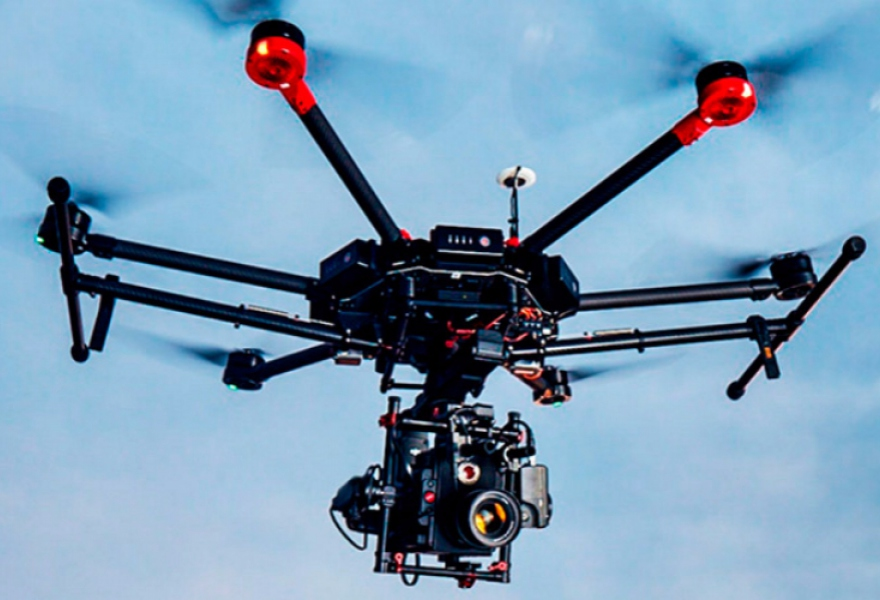 The DJIM600 drone used in the attack is more commonly used for industrial work (DJI)