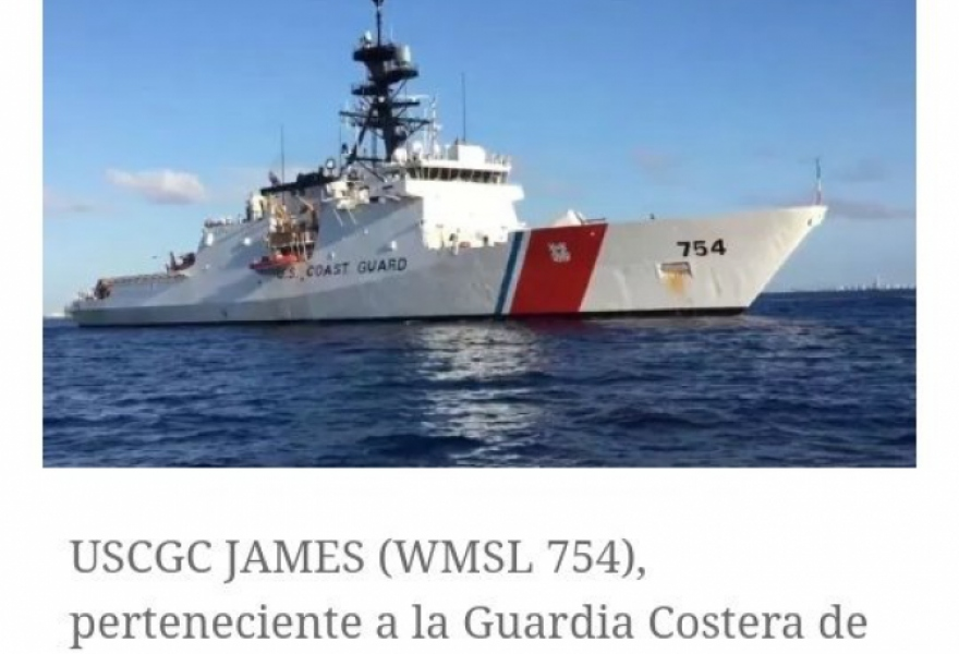 US Coast Guard James 754 (@rocaLaMolesta / Twitter)