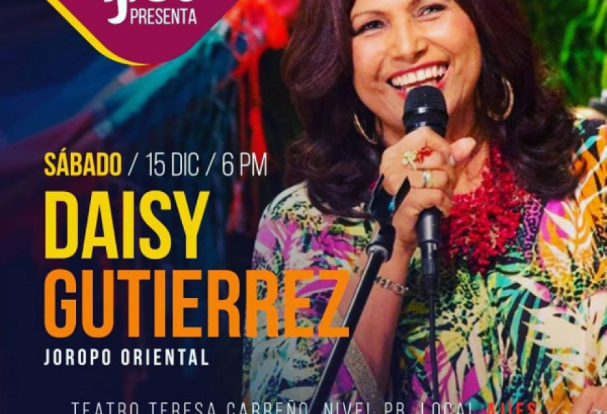 Restaurant Ají Es regularly holds live music events. This one featured Daisy Gutierrez who sings traditional joropos from eastern Venezuela (@AjiEsVzla)
