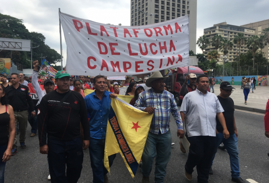The Campesino Struggle Platform has been one of the forces leading the struggle. (Ricardo Vaz)