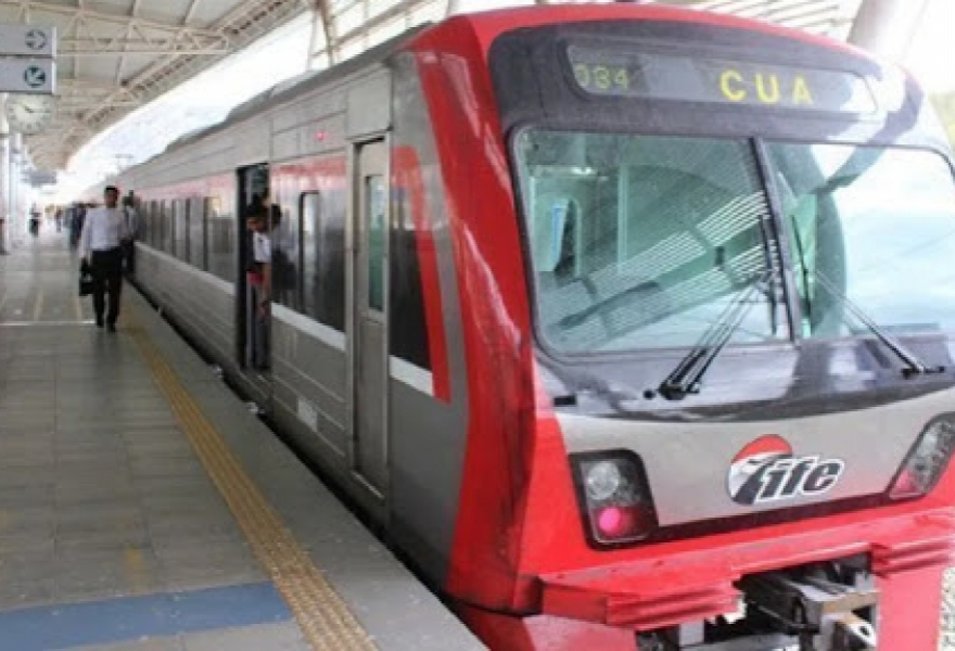 The short Caracas-Cua line is the only which is running. (Vice Presidency)