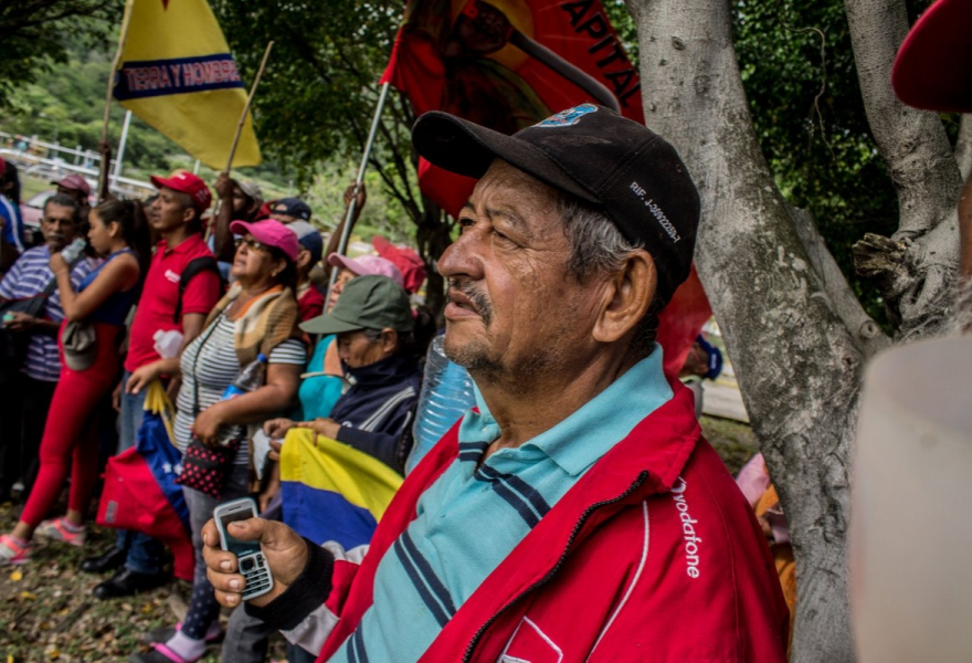 Campesinos held an over 400 km march last year to draw attention to their plight. (@Lucha_Campesina)